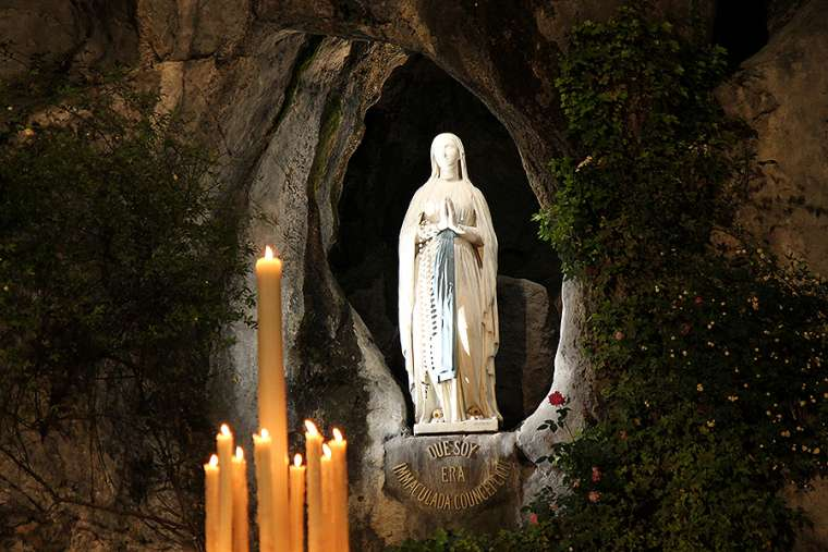 Madonna di Lourdes, io mi affido a Te! Preghiera della sera 26 Gennaio 2020