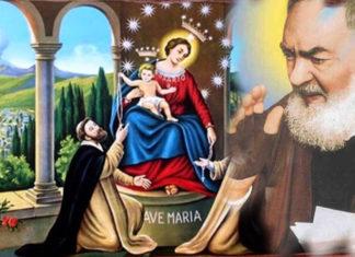 Madonna di Pompei - Padre Pio