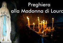 preghiera della sera Madonna di Lourdes