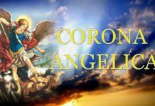 san michele arcangelo coroncina angelica
