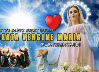Sette Fondatori dell'Ordine dei Servi della Beata Vergine Maria