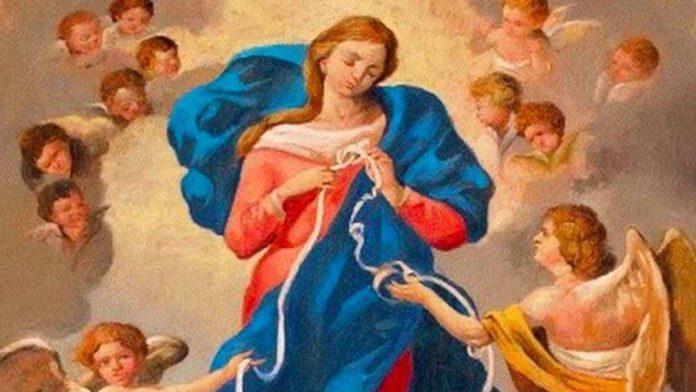 Affida a Maria che scioglie i nodi il tuo più grande problema! Preghiera della notte tra l'11 ed il 12 luglio 2020