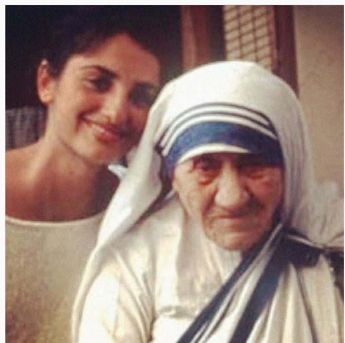 Sapevi che Madre Teresa ha cambiato l'esistenza dell'attrice Penelope Cruz?