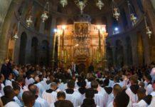 Terra Santa. Comincia la mappatura digitale del pavimento della Basilica del Santo Sepolcro