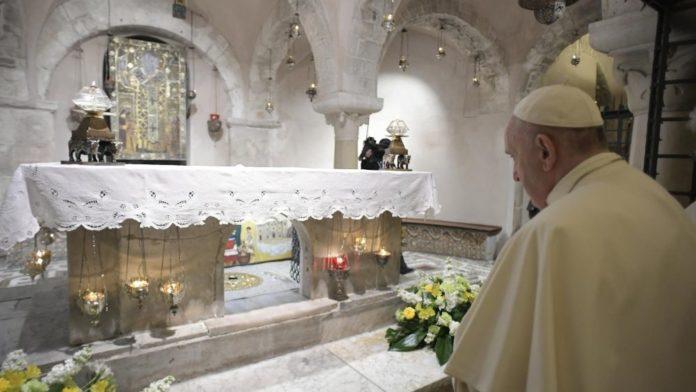 papa francesco bari