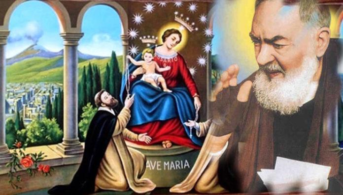 Supplica alla Vergine del Santo Rosario di Pompei.