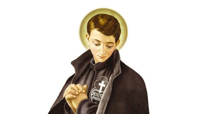 Oggi, 18 Febbraio 2021, inizia la Novena a San Gabriele dell'Addolorata. 1° Giorno, PREGHIAMO PER I GIOVANI