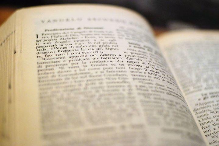 Lettura del Vangelo