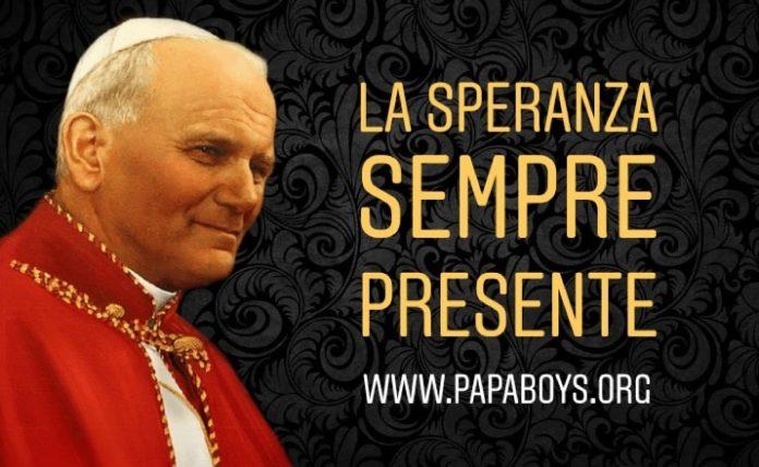 Giovanni Paolo Ii Speranza Sempre Presente In Noi Lunedi 16