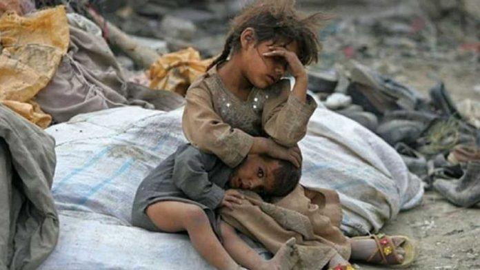 I bambini siriani hanno un disperato bisogno di pace. Preghiamo ...