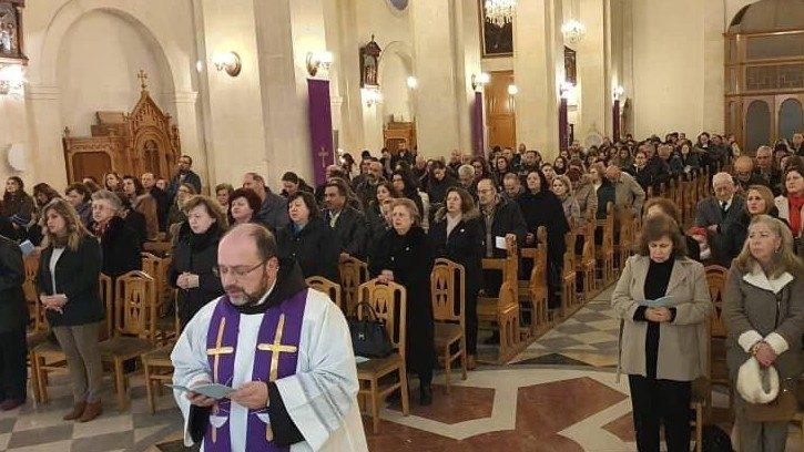 I cristiani della Siria pregano per l'Italia
