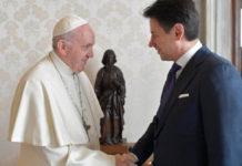 Papa Francesco e il Premier Conte