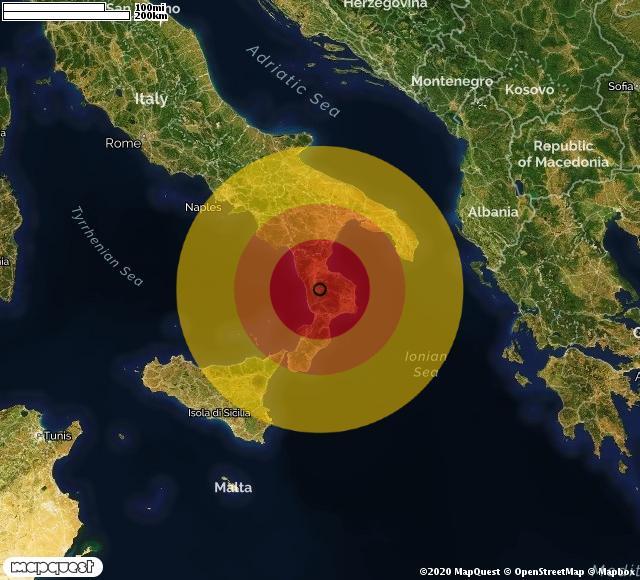 Terremoto in Calabria, dieci scosse in una notte