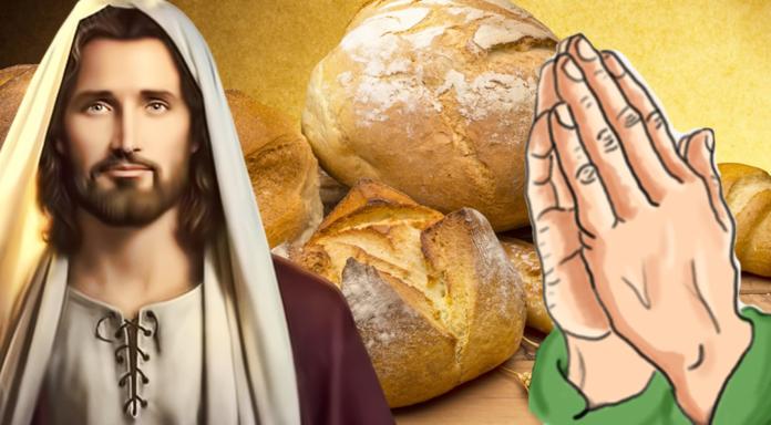 Preghiera per benedire i pasti