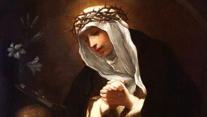 Santa Caterina da Siena - Preghiera