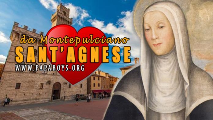 Sant'Agnese da Montepulciano, Vergine