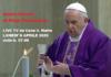 Santa Messa di Papa Francesco LIVE TV da Casa S. Marta.