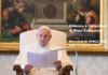 Udienza e Catechesi di Papa Francesco. Mercoledì 08 APRILE 2020. LIVE TV dalle h. 09.25