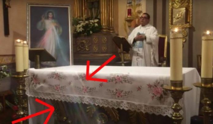 Miracolo dipinto Gesù Misericordioso
