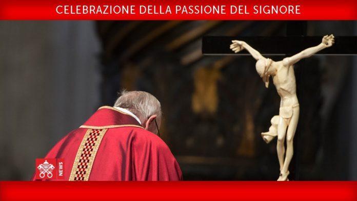 passione Signore papa francesco venerdì santo