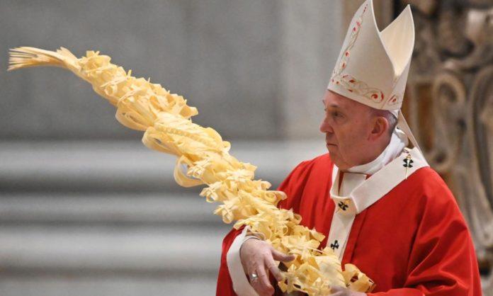 Messa di Pasqua 2020 Papa Francesco