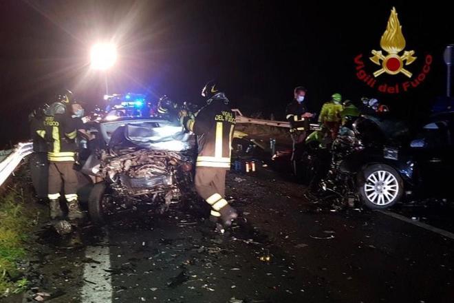 Incidente stradale Bresciano