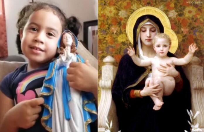Madonna canto Bambina - Chr