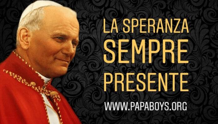 Rubrica dedicata a a Giovanni Paolo II