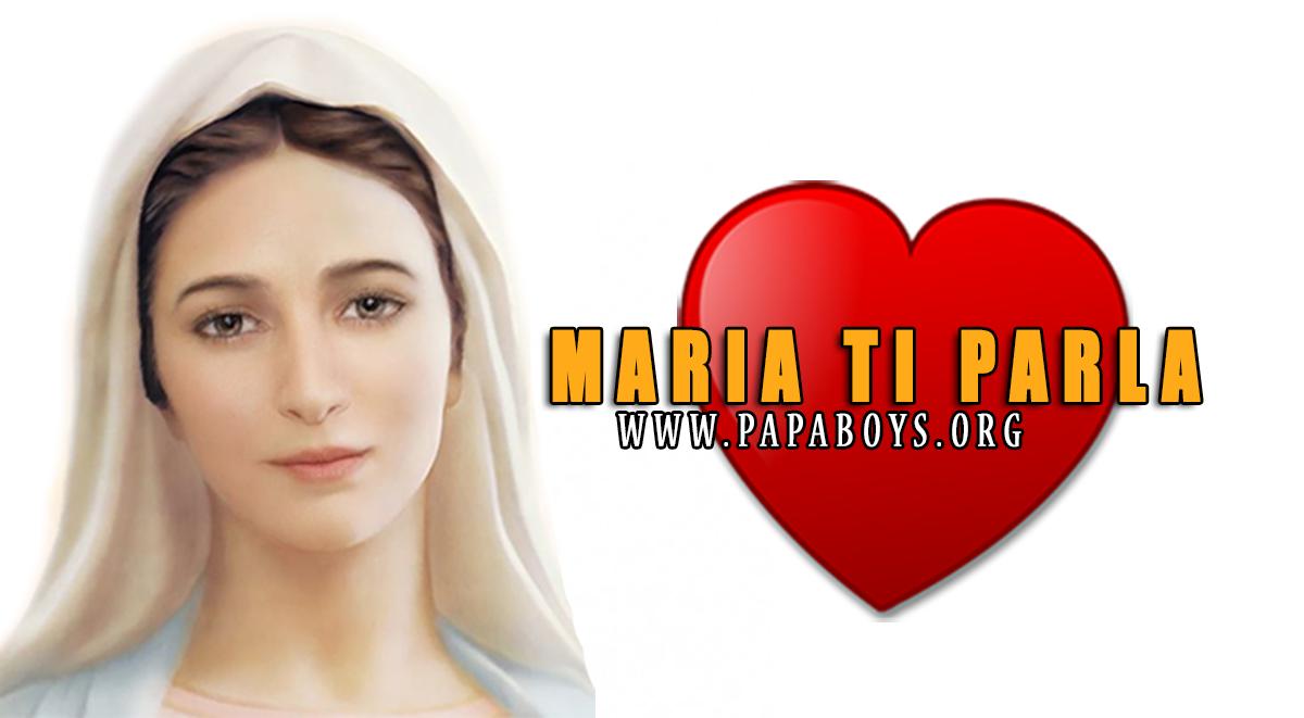 Medjugorje: MARIA TI PARLA!