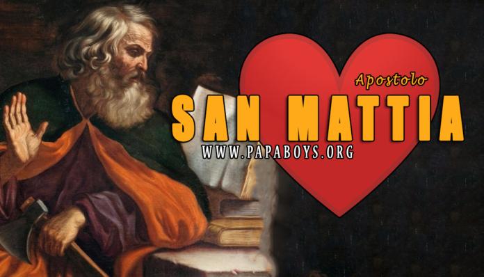 San Mattia, Apostolo