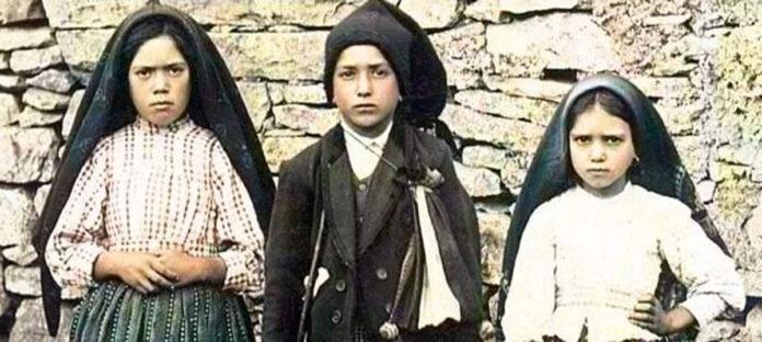 Tre pastorelli di Fatima