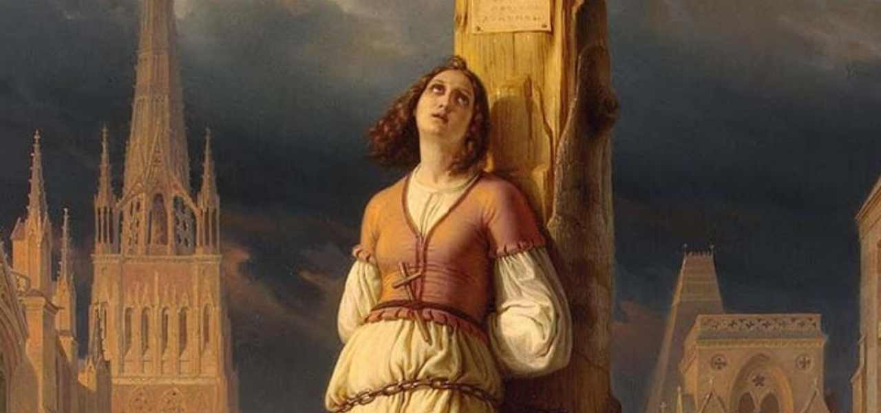 Santa Giovanna d'Arco, Vergine