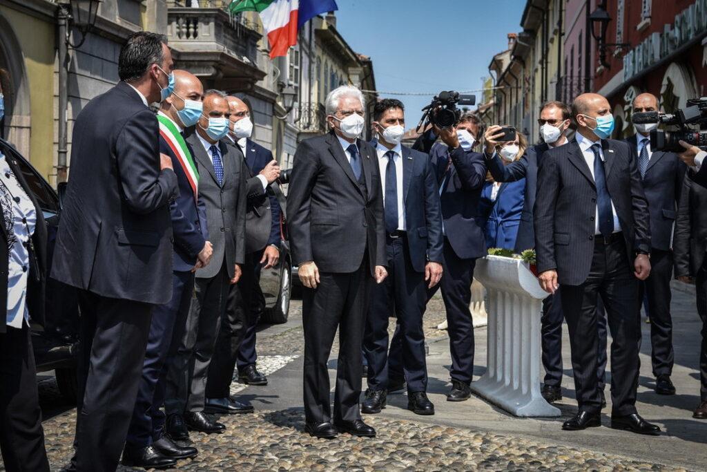 Il presidente Mattarella a Codogno