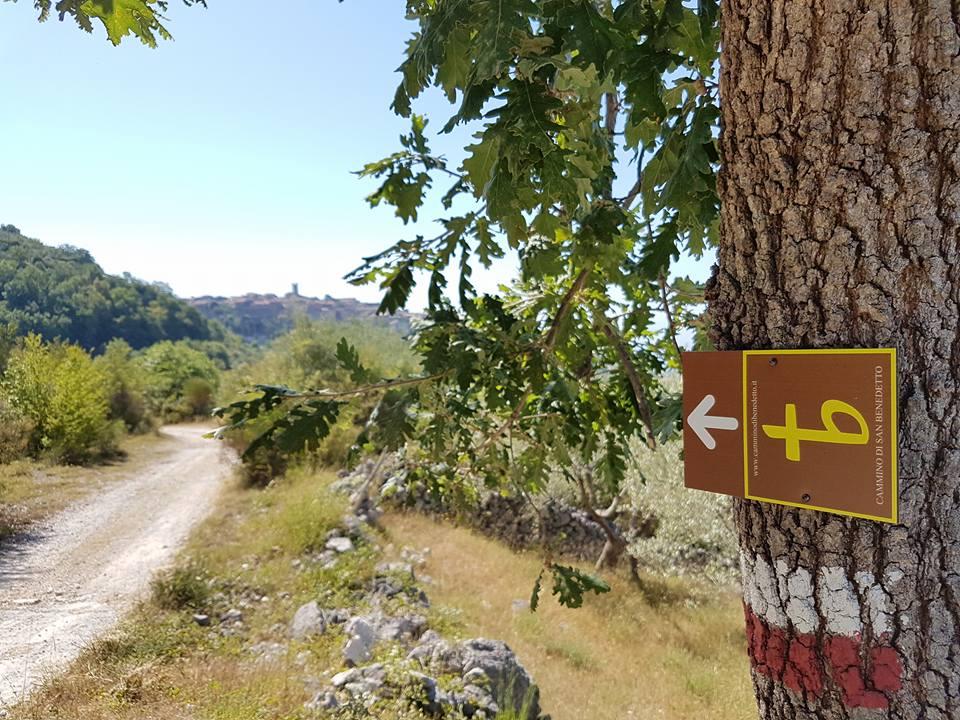 Cammino di San Benedetto, Tappe