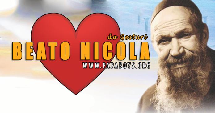 Beato Nicola da Gesturi - 8 Giugno 2020