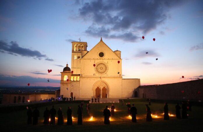 Assisi cielo frati