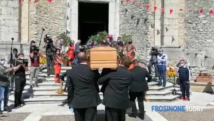 Guglielmo Mollicone, i funerali del papà di Serena.