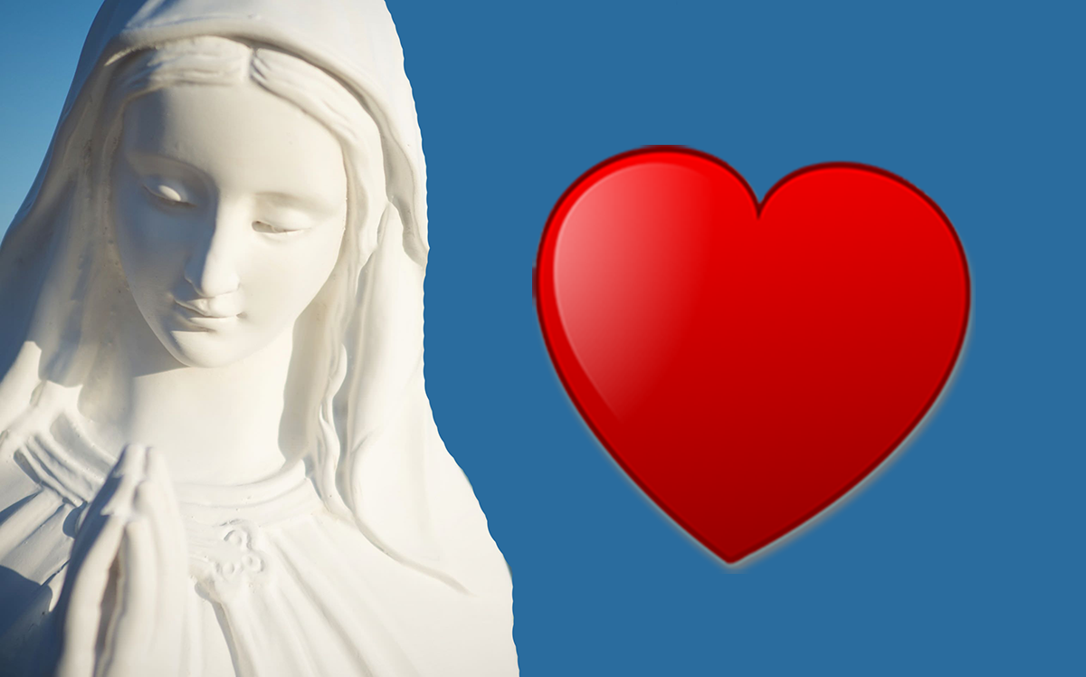 La Madonna: 'Vi sono vicina e prego per voi'