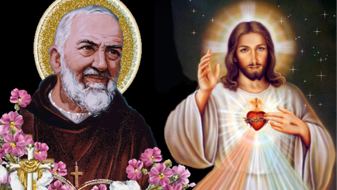 Padre Pio e Gesù