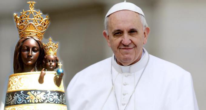 Papa Francesco e la Madonna di Loreto