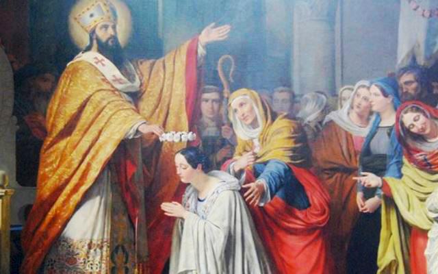 San Menardo, Vescovo