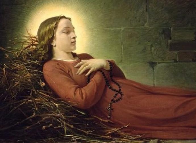 Santa Germana Cousin, Vergine