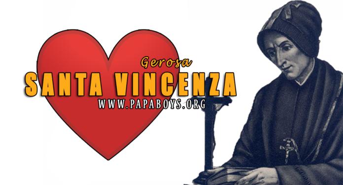 Santa Vincenza Gerosa, 28 Giugno