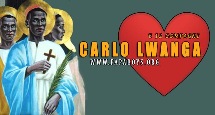 Santi Carlo Lwanga e 12 compagni - 3 Giugno