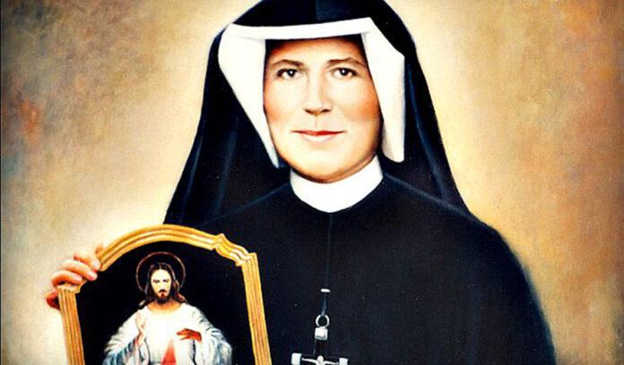 Santa Faustina - Recita la Coroncina alla Divina Misericordia