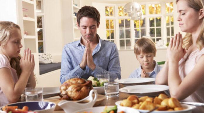 Preghiera per il pranzo