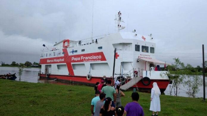 Barco Hospital Papa Francisco