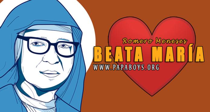 Beata María Romero Meneses, 7 Luglio (www.onlinewithsaints.com)