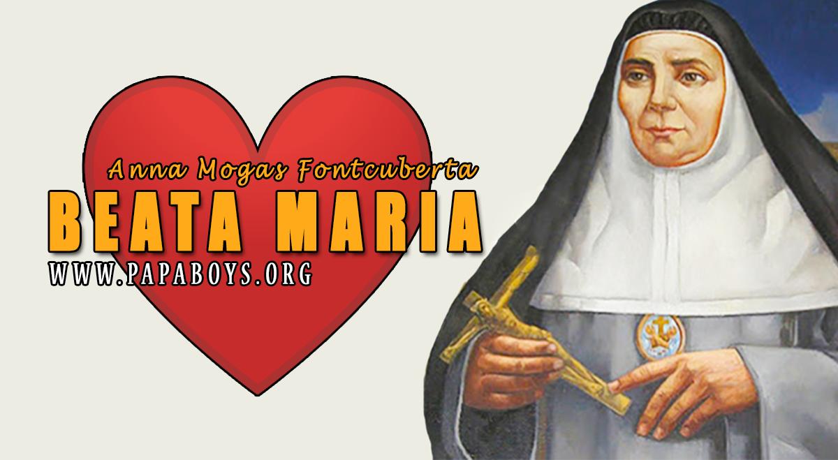 Il Santo del giorno 3 Luglio 2020 Beata Maria Anna Mogas ...