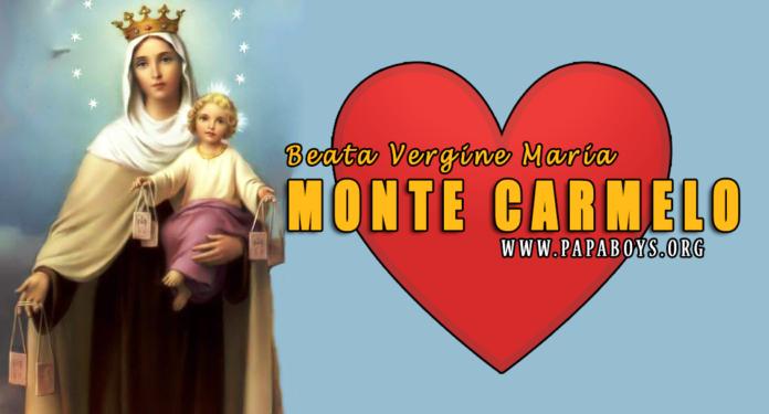 Beata Vergine Maria del Monte Carmelo, 16 Luglio
